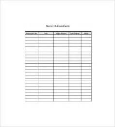 equipment list template 10 free word excel pdf format