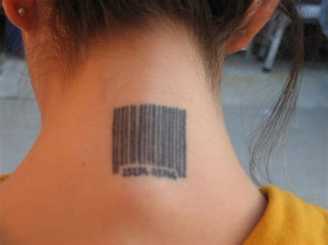 barcode tattoo meaning video search engine at search com barcode tattoo meaning neck for girl tattoomagz