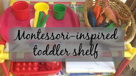 montessori inspired on activities for toddlers at