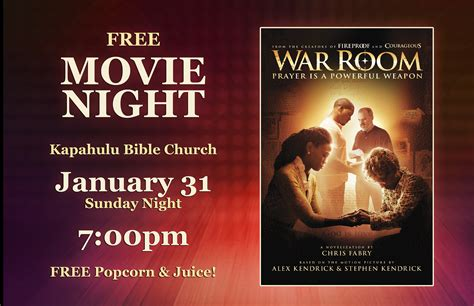 the war room free kapahulu bible church events