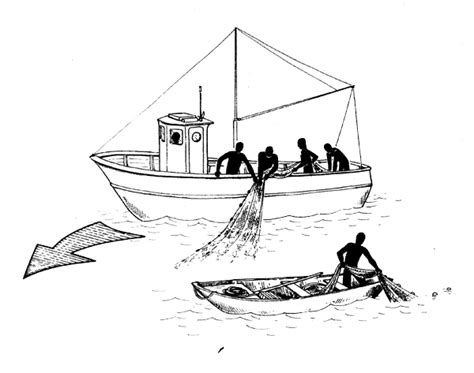 easy way to draw a boat simple fishing boat drawing www imgkid the image