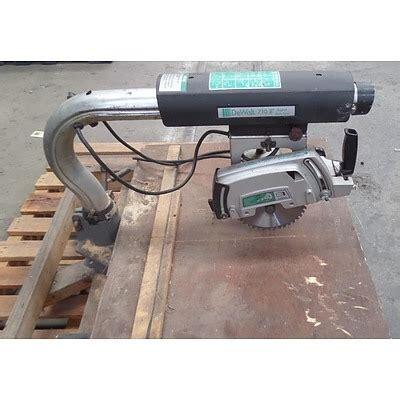 capacitor dewalt radial arm saw dewalt 710 8 quot radial arm saw lot 719817 allbids