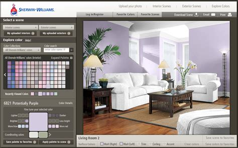 paint color tool sherwin williams paint visualizer tool the sustainable spot
