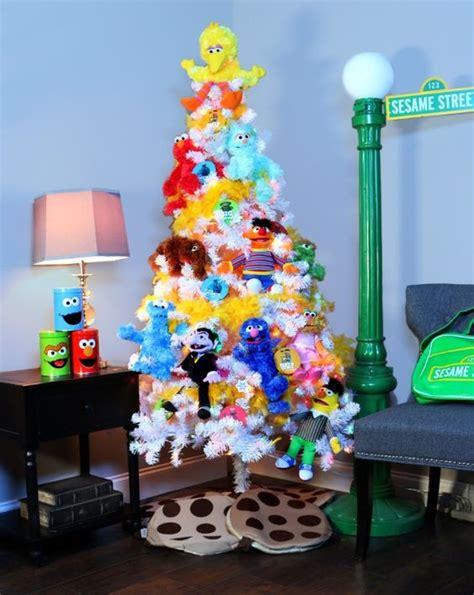 sesame stree theme christmas tree pop culture christmas