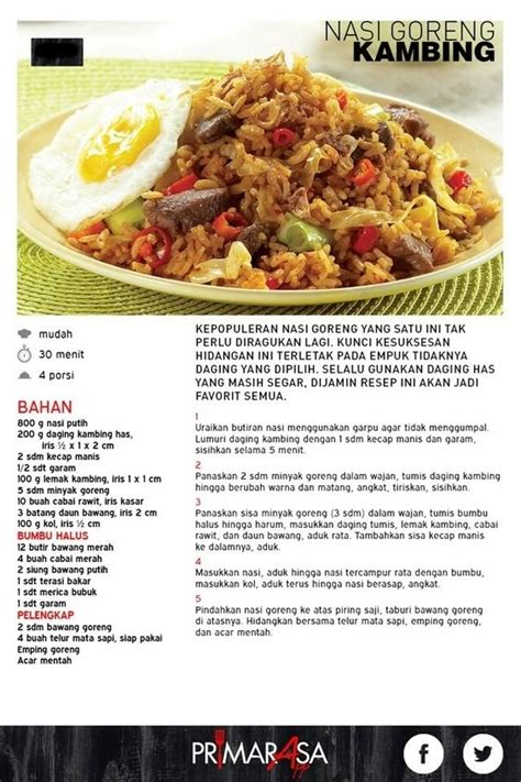 contoh teks prosedur nasi goreng bahasa inggris simak