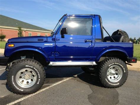 purchase used 1994 suzuki samurai jl sport utility 2 door