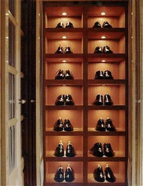 luxury shoe storage add led lights to your shoe shelves and display