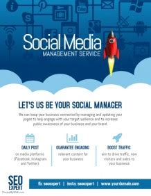 Customize 5 630 Retail Poster Templates Postermywall Social Media Management Template