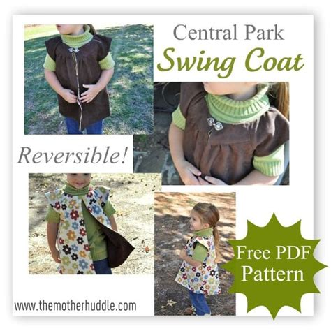 central park swings best 94 schnittmuster f 252 r kinder kleidung images on