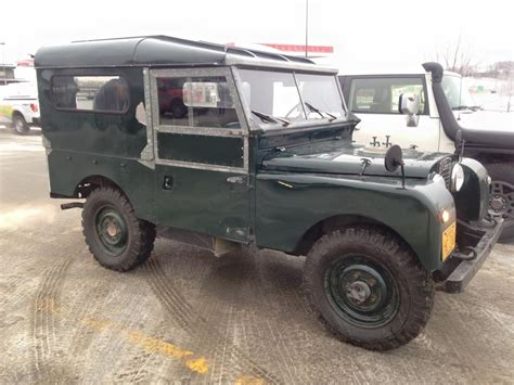 land rover overland 1958 land rover series i northern overland
