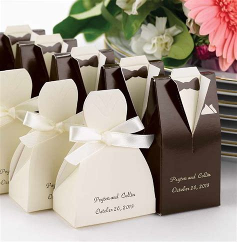 wedding supplies 33 awesome wedding favors for your guests brown tuxedo