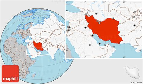 gray location map  iran highlighted continent map pictures