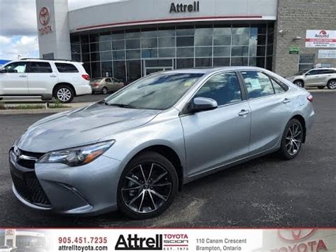 2016 toyota camry xse premium package  attrell toyota