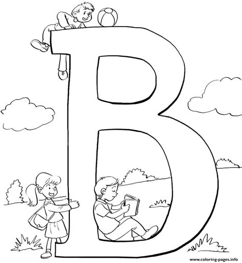 Alphabet B Coloring Pages by Alphabet S B Word23da Coloring Pages Printable