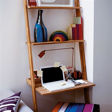 Desk Shelving Ideas Snug Desk Home Office Storage Ideas Housetohome Co Uk