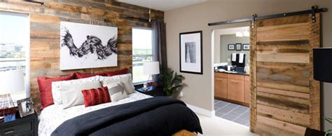 wood paneling in bedroom reclaimed wood paneling contemporary bedroom other
