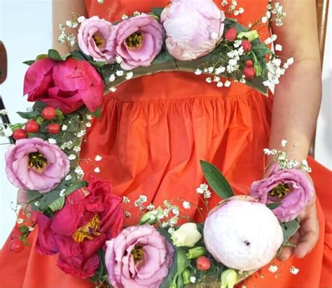 fiori in tavola fai da te le lettere decorative con i fiori zigzagmom