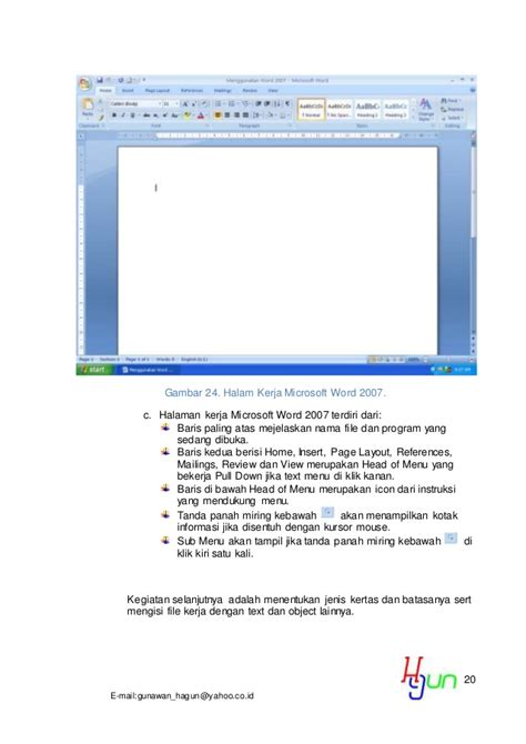 membuat daftar isi microsoft word 2007 13 detik membuat daftar isi di ms word 2007 r4 doc