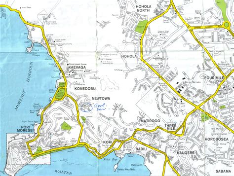 port moresby map port moresby map map