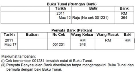 format penyata penyesuaian buku vot penyata penyesuaian bank cg narzuki online