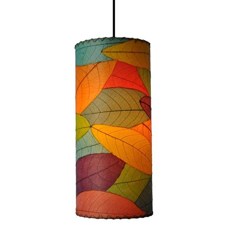 Multi Colored Pendant Lights Shop Eangee Home Designs 7 In W Multi Colored Mini Pendant Light With Textured Shade At Lowes