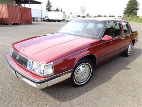 all car manuals free 1989 buick electra electronic valve timing buy used 1985 buick electra 380 v6 2 door 22k miles automatic 1986 1987 1988 1989 1990 in united
