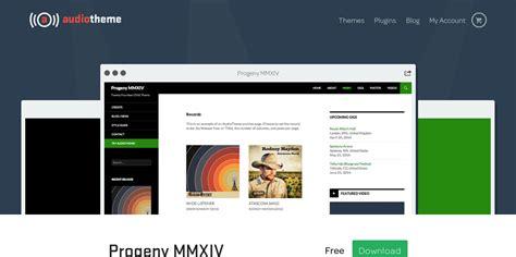 wordpress themes free music artists top 6 free wordpress music themes for artists