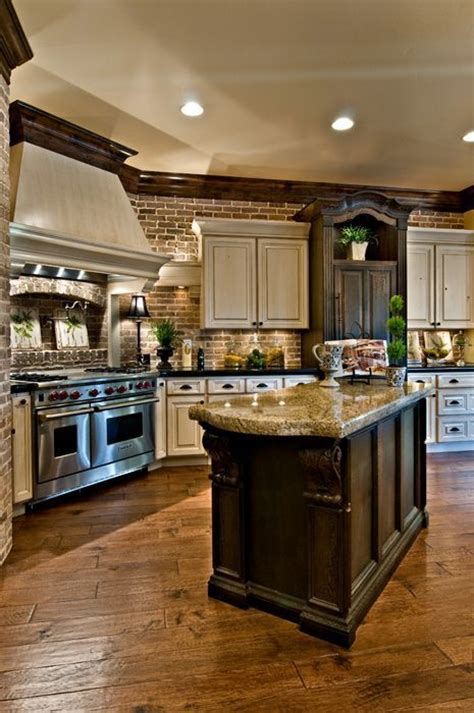 beautiful kitchens tile floor beautiful kitchen by k welch homes style estate log cabin future home