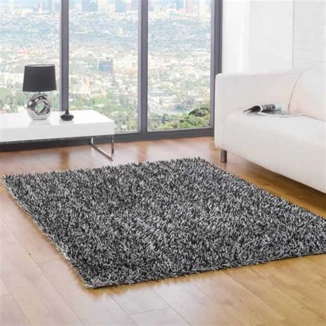 and black shaggy rugs flair rugs spider shaggy rug ebay