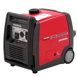 Honda Power Inverter Generator Honda 3000 Watt Gasoline Powered Wheeled