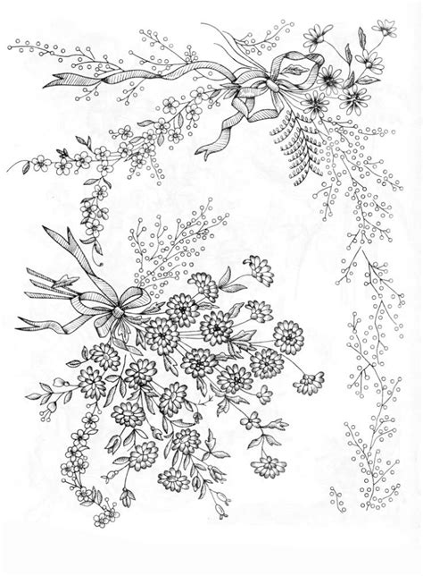 embroidery muster embroidery patterns embroidery flowers handstickerei