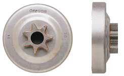 seleccion de cadenas y sprockets pi 241 ones pro spur estrella marca oregon para motosierras