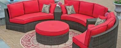 circle patio furniture semi circle patio furniture chicpeastudio