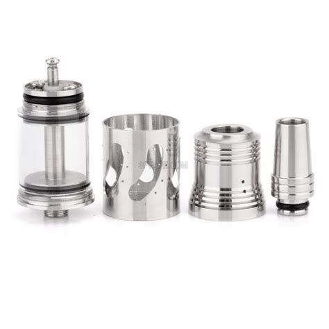 Drip Stainless Steel 250 Ml steam turbine genesis style rebuildable atomizer w drip tip stainless steel 3 0ml 3fvape