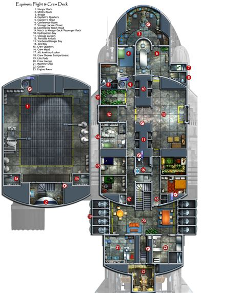 spaceship floor plans legfltpxdeckresized jpg 1750 215 2111 planos naves