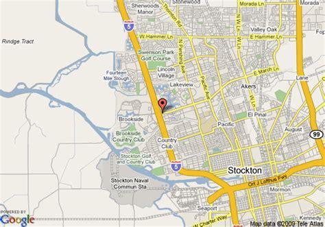 california map stockton stockton map toursmaps
