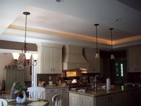 Tray Ceiling Kitchen Tray Ceiling Kitchen With Lights Home Ideas Kitchen
