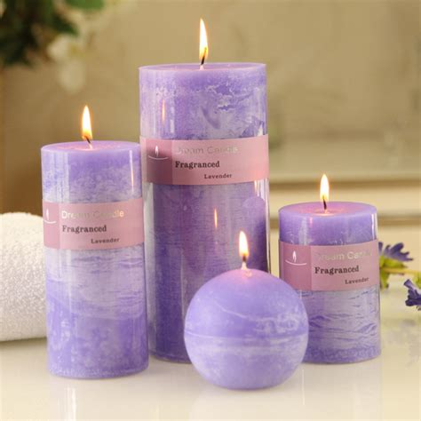 billige kerzen get cheap purple wedding candles aliexpress