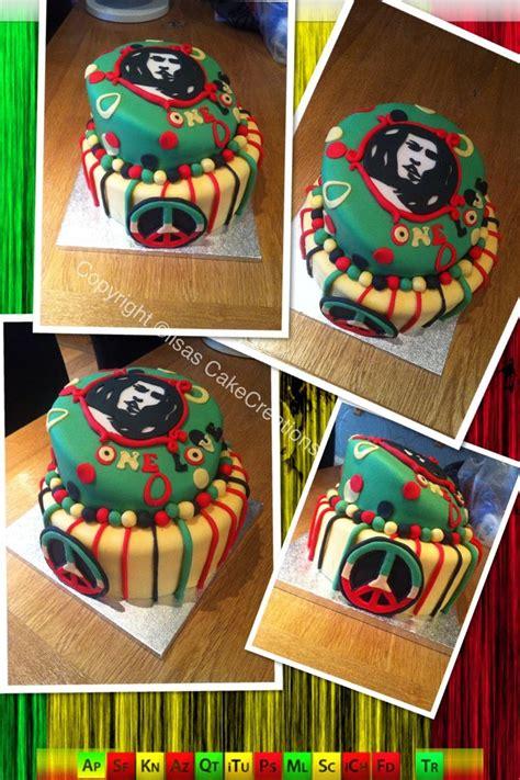 themes reggae bob marley cake reggae theme awesome cakes pinterest