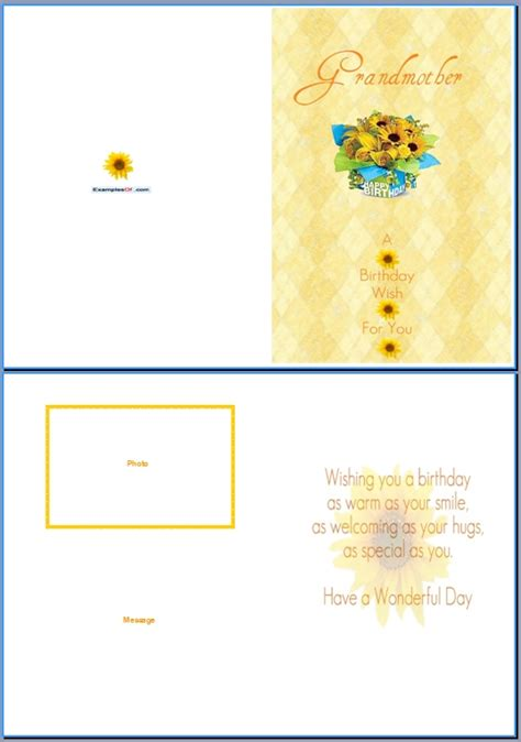 word birthday card template doc 537762 doc537762 birthday card format for word