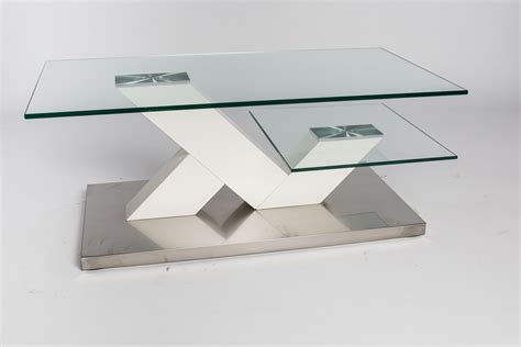 table basse de salon design en verre design en image