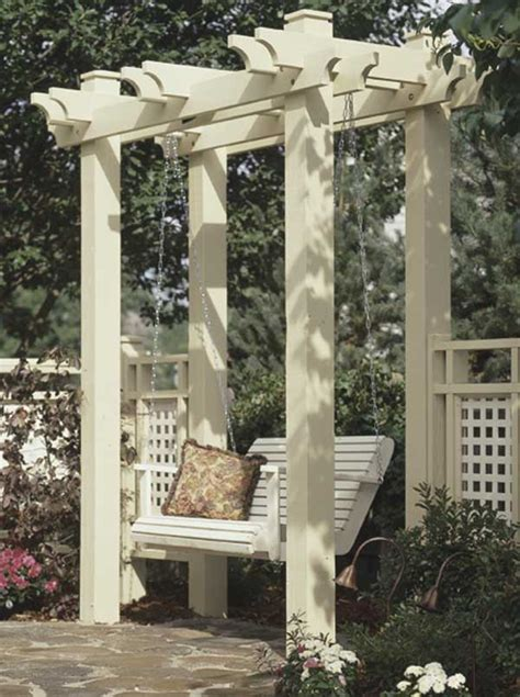 garden arbor woodworking plans arbor woodworking plan from wood magazine