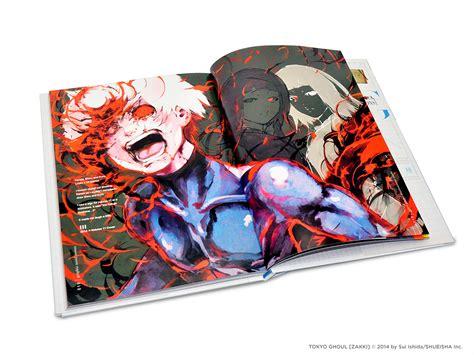 tokyo ghoul illustrations zakki books viz see tokyo ghoul illustrations zakki