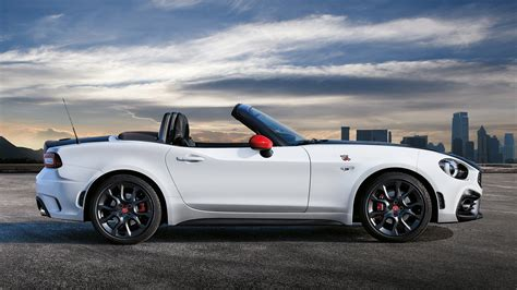 2017 fiat 124 spider abarth 2017 fiat 124 spider abarth wallpapers hd images