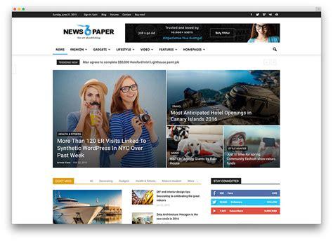 tumblr themes for news sites 20 responsive magazine news wordpress themes for blogging