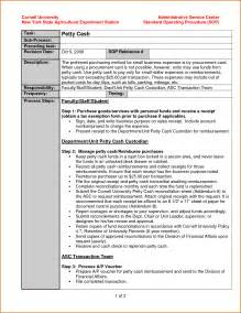 standard of procedure template sle chart templates 187 standard operating procedure flow
