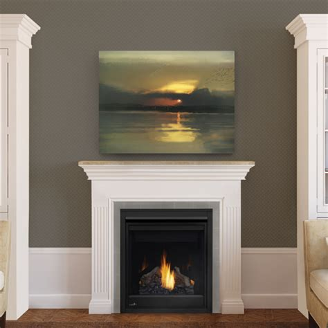 Direct Vent Propane Fireplace by Gas Fireplaces Shiptons Heating And Cooling
