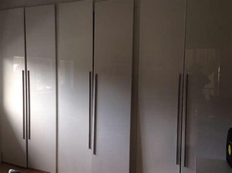 6 ikea wardrobe doors, white 50x229, included handles.Like