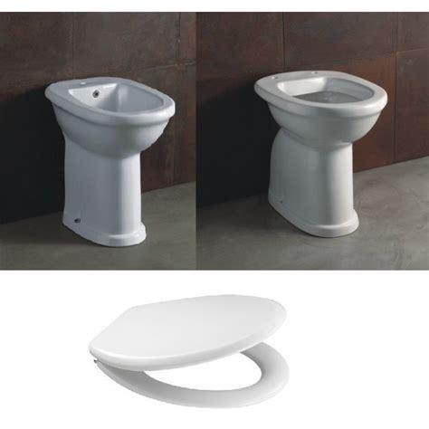 vaso per disabili ceramica vaso e bidet per anziani serie confort