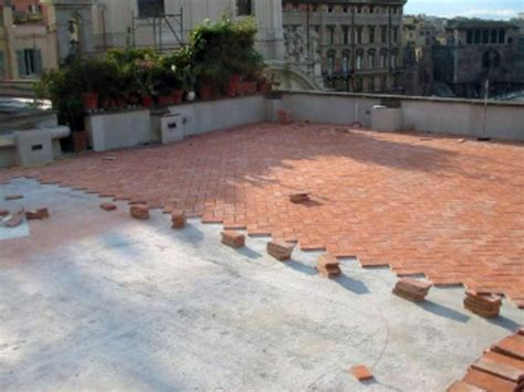 terrazzo pavimento pavimento per giardino terrazzo piano di materiale mattoni